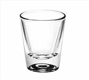 1 1/4 OZ LINED WHISKEY SHOT GLASS
