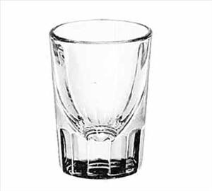 2 OZ FLUTED WHISKEY SHOT GLASS