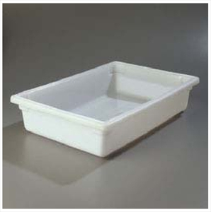 "Food Storage Box, white, 18"" x 26"" x 6"""