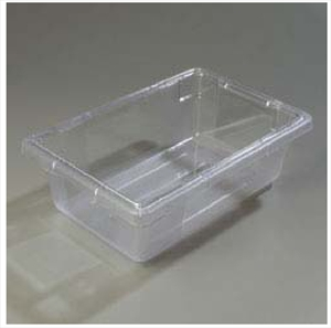 "Food Storage Box, 12"" x 18"" x 6"" Clear"